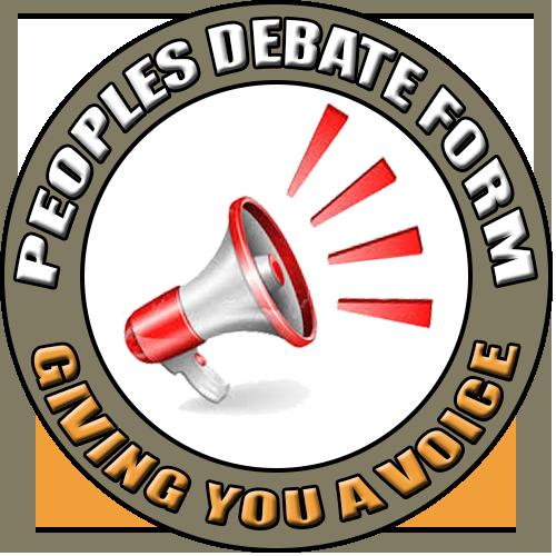 Peoples Debate Forum